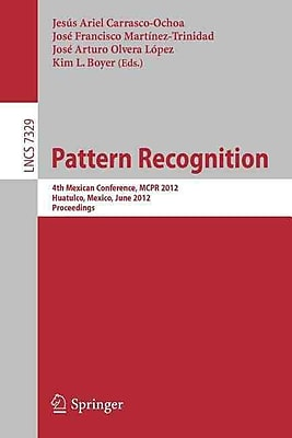 Pattern Recognition: 4th Mexican Conference