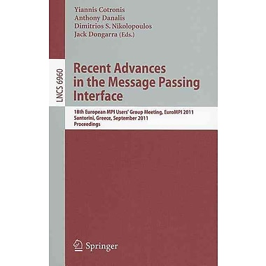 Recent Advances in the Message Passing Interface
