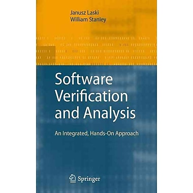 Software Verification and Analysis: An Integrated, Hands-On Approach