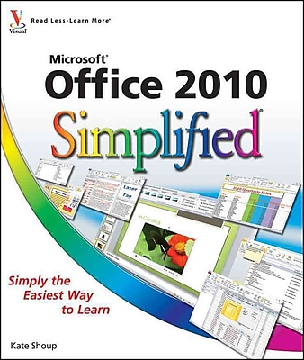 Office 2010 Simplified Kate Shoup Paperback