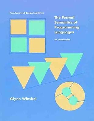 Formal Semantics of Programming Languages