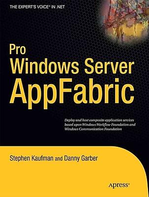 Pro Windows Server: AppFabric