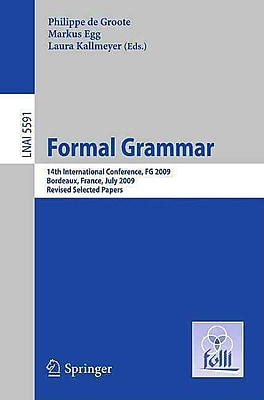 Formal Grammar: 14th International Conference