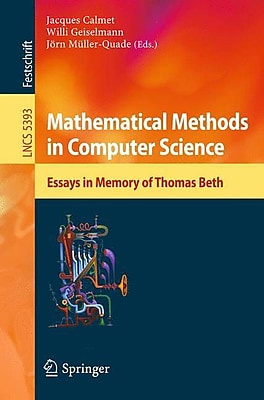 Mathematical Methods in Computer Science
