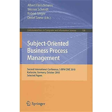 Subject Oriented Business Process Management