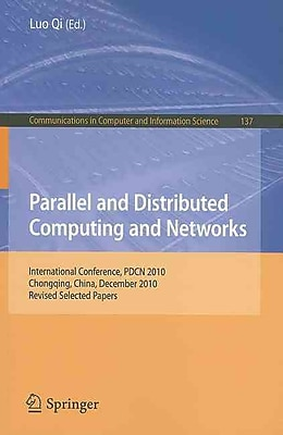 Parallel & Distributed Computing and Networks
