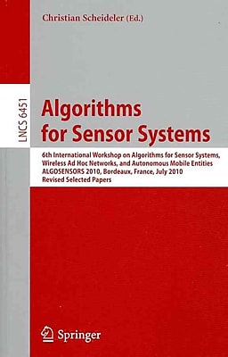 Algorithms for Sensor Systems