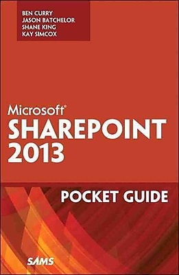 Microsoft SharePoint 2013 Pocket Guide