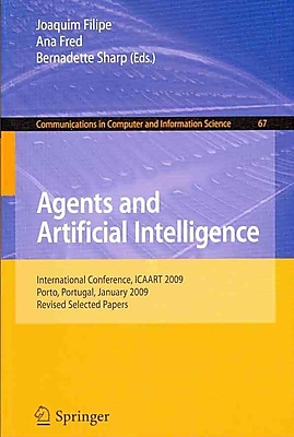 Agents and Artificial Intelligence: International Conference, ICAART 2009