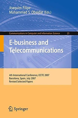 E-business and Telecommunications(Paperback)