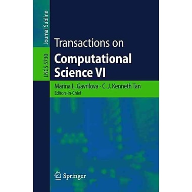 Transactions on Computational Science VI