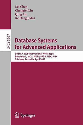 Database Systems for Advanced Applications: DASFAA 2009 International Workshops