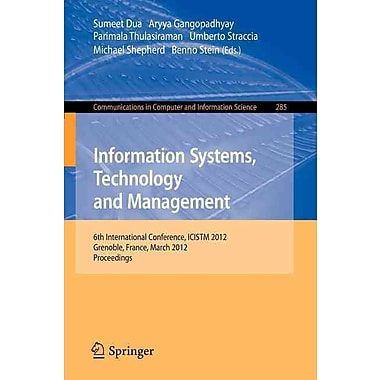 Information Systems, Technology and Management (Paperback)