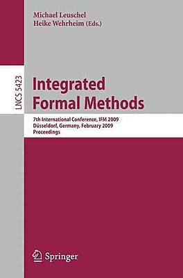 Integrated Formal Methods