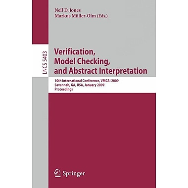 Verification, Model Checking, and Abstract Interpretation: 10th International Conference