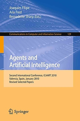 Agents and Artificial Intelligence: Second International Conference