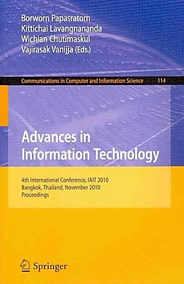 Advances in Information Technology Paperback