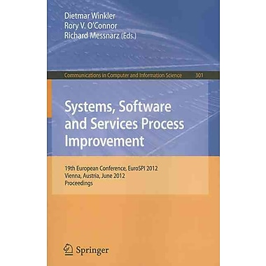 Systems, Software and Services Process Improvement (Paperback)