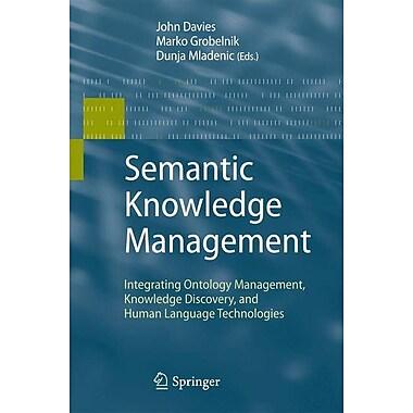 Semantic Knowledge Management