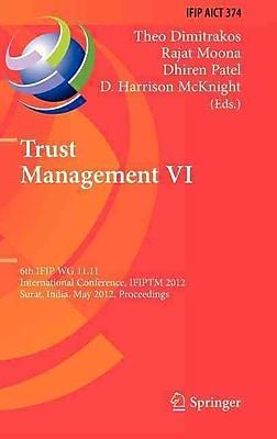 Trust Management VI (Hardcover)