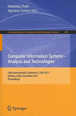 Computer Information Systems - Analysis and Technologies