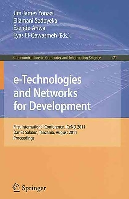 e-Technologies and Networks for Development