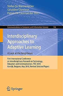 Interdisciplinary Approaches to Adaptive Learning