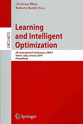 Learning and Intelligent Optimization (4th International Conference)