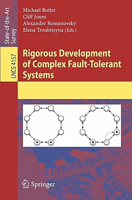 Rigorous Development of Complex Fault-Tolerant Systems Jones Paperback