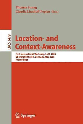 Location- and Context-Awareness