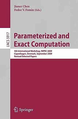 Parameterized and Exact Computation (Paperback)