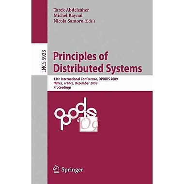 Principles of Distributed Systems: 13th International Conference