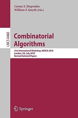 Combinatorial Algorithms (Paperback)