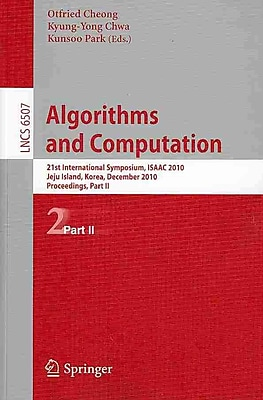 Algorithms and Computation: 21st International Symposium