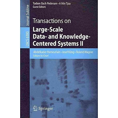 Transactions on Large-Scale Data- and Knowledge-Centered Systems II