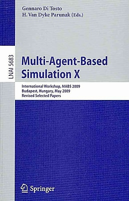 Multi-Agent-Based Simulation X