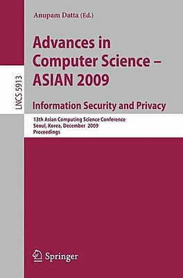 Advances in Computer Science, Information Security and Privacy