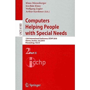 Computers Helping People with Special Needs, Part II