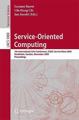 Service-Oriented Computing: 7th International Joint Conference