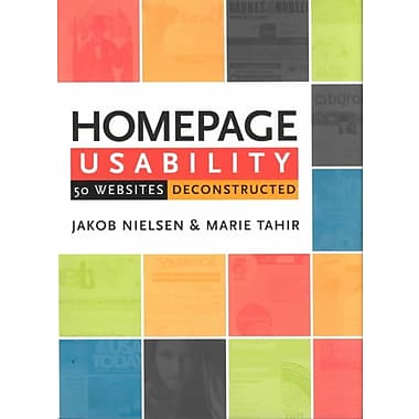 Homepage Usability