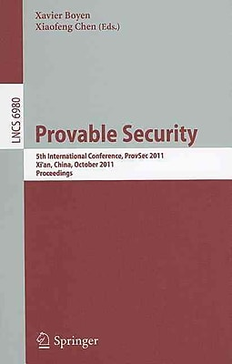 Provable Security: 5th International Conference