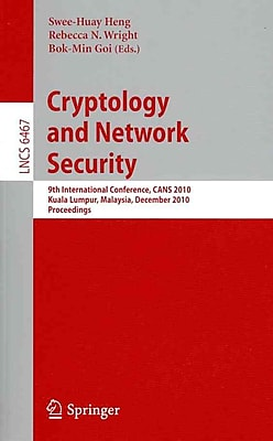 Cryptology and Network Security (Paperback)