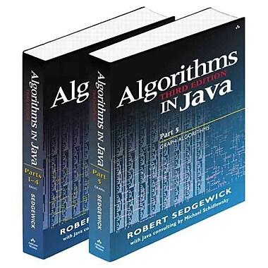 Bundle of Algorithms in Java, Third Edition, Parts 1-5