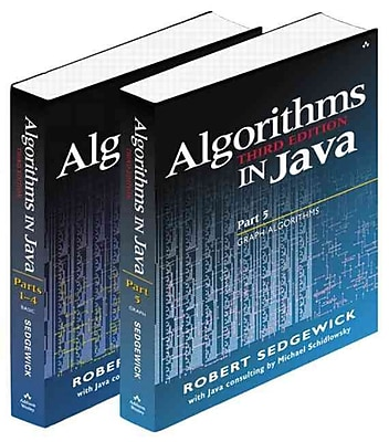 Bundle of Algorithms in Java, Third Edition, Parts 1-5