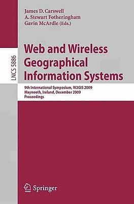 Web and Wireless Geographical Information Systems.