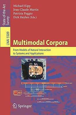 Multimodal Corpora Michael, Martin Kipp Paperback