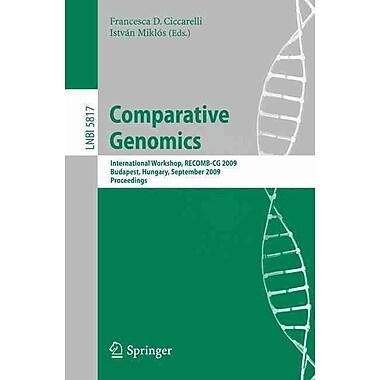 Comparative Genomics Paperback