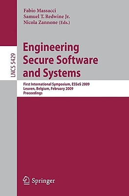 Engineering Secure Software and Systems (Paperback)