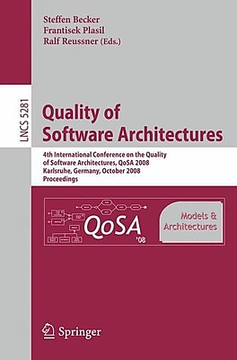 Quality of Software Architectures Models and Architectures