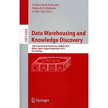 Data Warehousing and Knowledge Discovery (PB)
